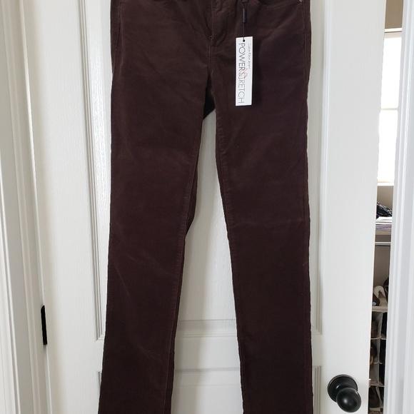 Calvin Klein Denim - Calvin Klein Ultimate Skinny Brown Corduroy Jeans